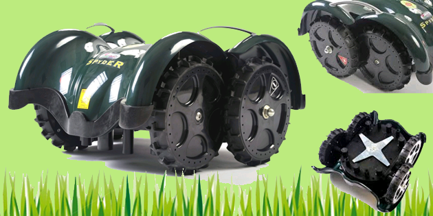 Robot Lawn Mower – LawnBott LB1200 Spyder Robotic Review